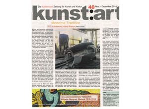 Kunst:art Magazin Nov-Dez 14
