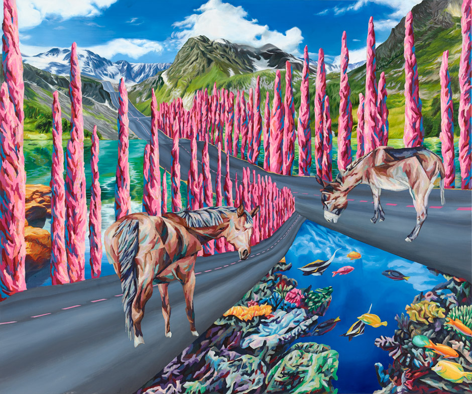 2015_130x160cm_traumfeldI_150x180_cm_acryl_papercollage_on_canvas